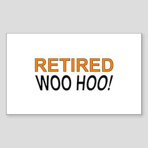 Retired Woo Hoo Sticker