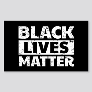 Black Lives Matter Sticker (Rectangle)