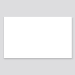 Jolly Christmas Sticker (Rectangle)