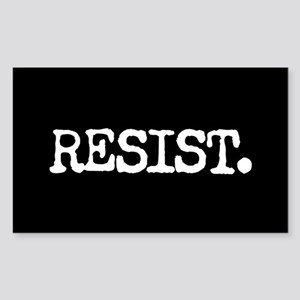 RESIST. Sticker (Rectangle)