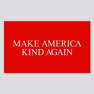 Make America Kind Again Sticker (Rectangle)