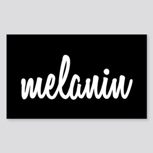Melanin Sticker (Rectangle)