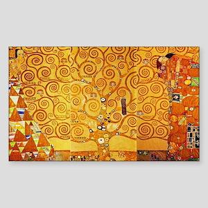 Gustav Klimt Tree of Life Art Nouveau Sticker