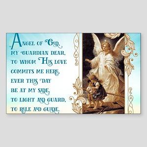 Angel of God (Day) Sticker