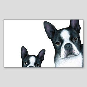 Dog 128 Boston Terrier Sticker