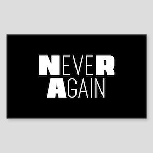 NeveR Again Sticker (Rectangle)