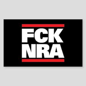 FCK NRA Sticker (Rectangle)