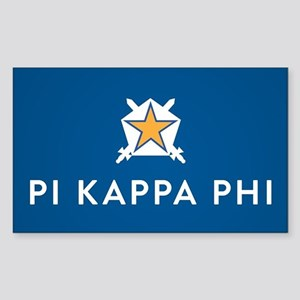 Pi Kappa Phi Sticker (Rectangle)