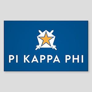 Pi Kappa Phi Sticker (Rectangle)