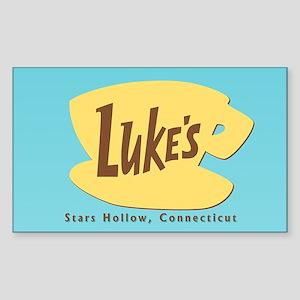 Luke's Diner Sticker (Rectangle)