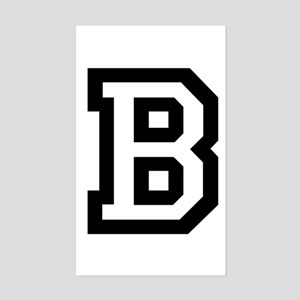 College B Sticker (Rectangle)