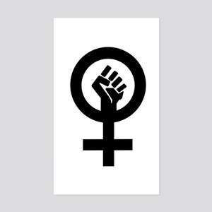 Feminism Now Rectangle Sticker