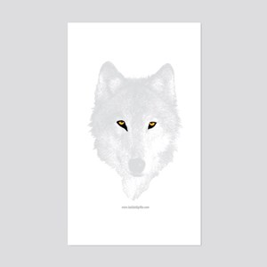 The Wolf... Rectangle Sticker