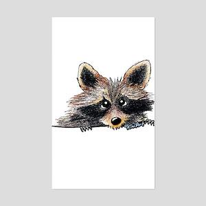 Pocket Raccoon Sticker (Rectangle)