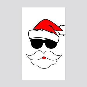 Cool Santa Claus Sticker (Rectangle)