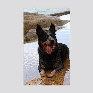 ACD at the Beach Sticker (Rectangle)