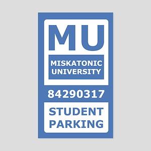Miskatonic University Parking Pass (Student)
