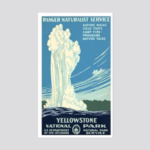1930s Vintage Yellowstone National Park Sticker (R
