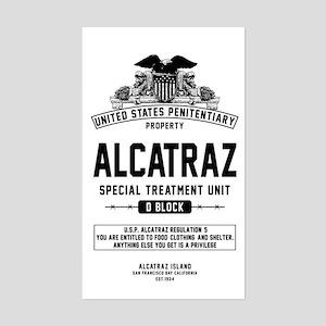 Alcatraz S.T.U. Sticker (Rectangle)