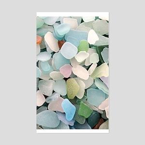 Sea glass Sticker (Rectangle)