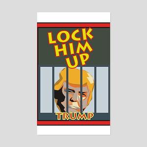 Lock Him Up Sticker