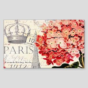 Paris hydrangea Sticker