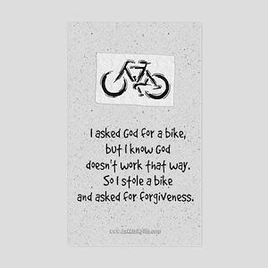 Forgiveness... Sticker (Rectangle)