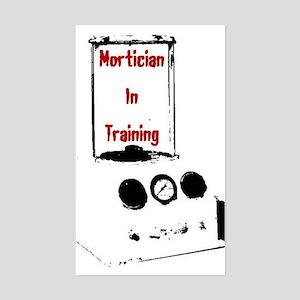 Mortician Rectangle Sticker
