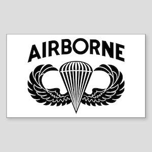 Jump Wings Stencil - Sticker