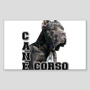 Cane Corso Sticker (Rectangle)