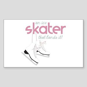 Skater Lands It Sticker