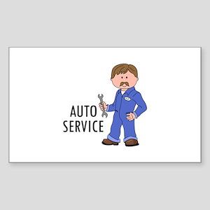 AUTO SERVICE Sticker
