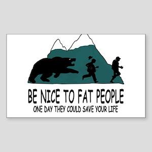 Fat people Sticker