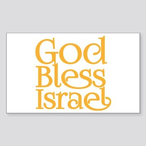 God Bless Israel Sticker