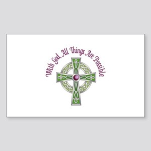 ALL THINGS POSSIBLE Sticker