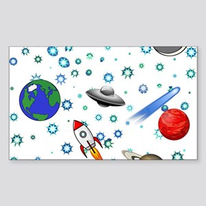 Kids Galaxy Universe Illustrations Sticker