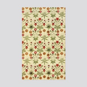 Flower Garden Tapestry Sticker (Rectangle)