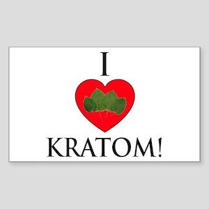 I Love Kratom! Sticker
