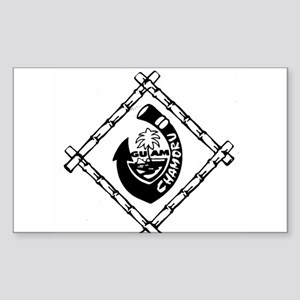 Guam Chamoru Sticker (Rectangle)