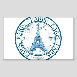 Paris travel stamp Sticker