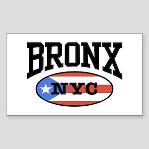 Bronx Puerto Rican Sticker (Rectangle)