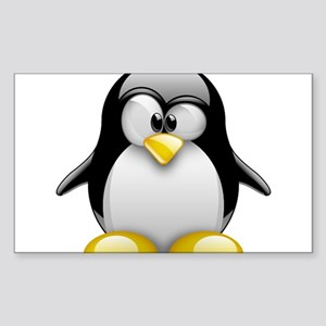 Tux Sticker (Rectangle)