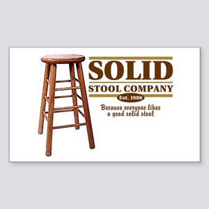 Solid Stool Rectangle Sticker