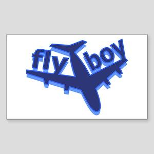 Fly Boy Rectangle Sticker