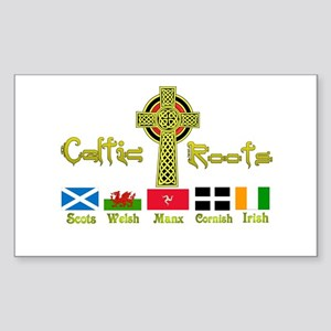 My Celtic Heritage. Rectangle Sticker