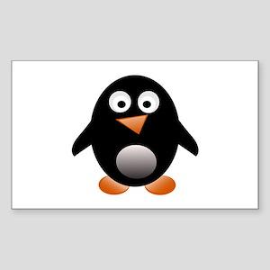 Jesus freak penguin Sticker