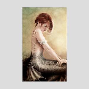 Sea Faerie, Cropped Sticker (Rectangle)