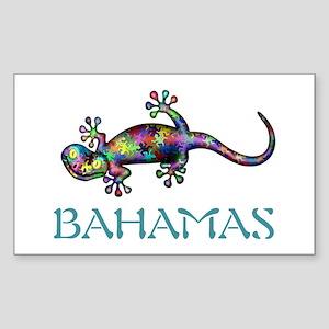 Bahamas Gekco Sticker