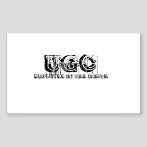 ugcemployee Sticker (Rectangle)