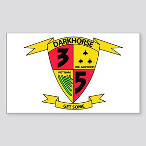 3rd Battalion 5th Marines Sticker (Rectangle)